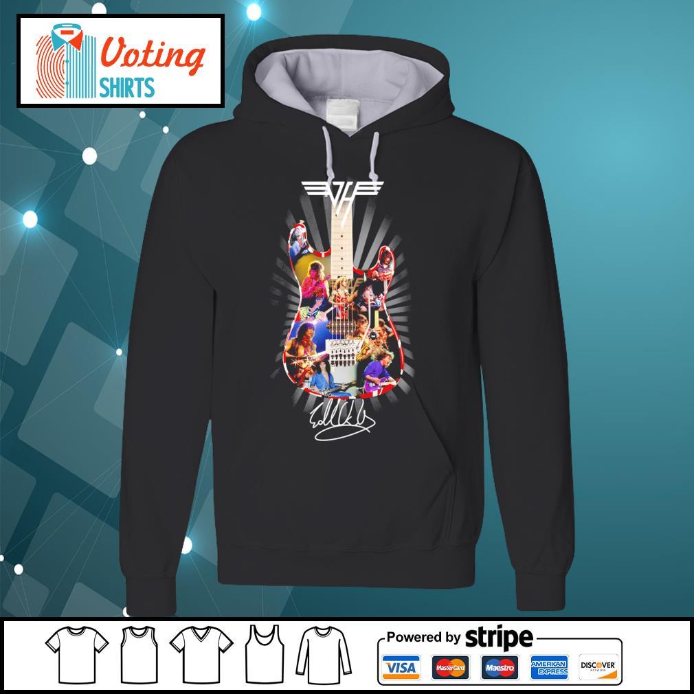 Eddie Van Halen guitar signature s hoodie