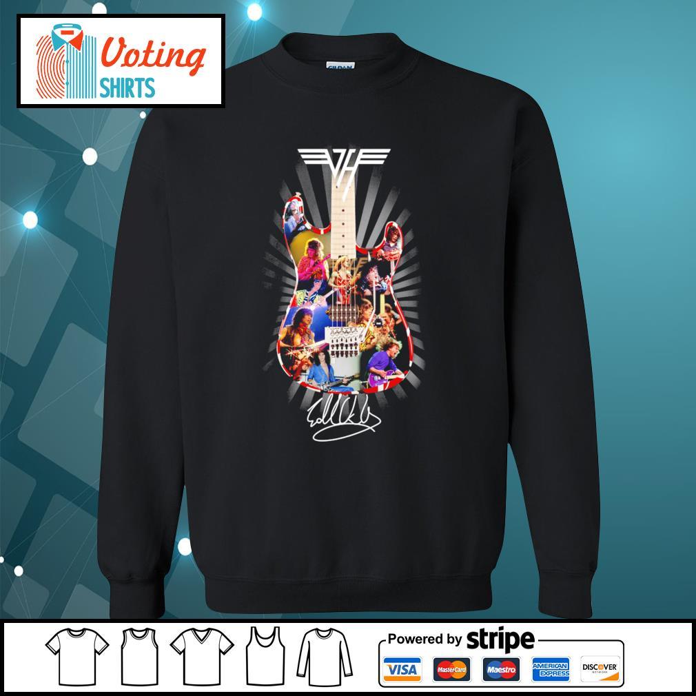 Eddie Van Halen guitar signature s sweater