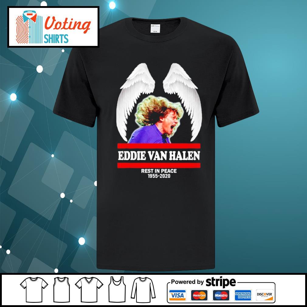 Eddie Van Halen rest in peace 1955-2020 shirt