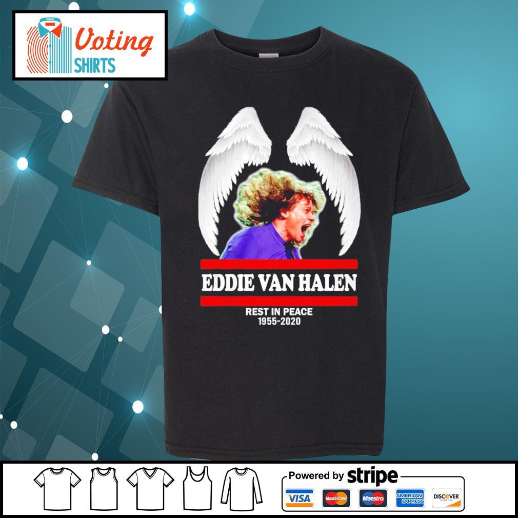 Eddie Van Halen rest in peace 1955-2020 s youth-tee