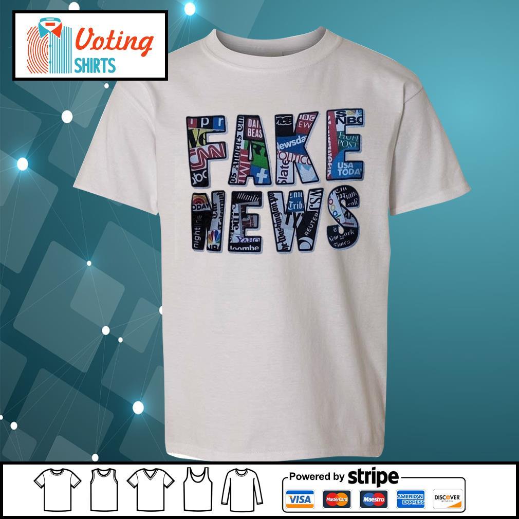 Fake news social network s youth-tee