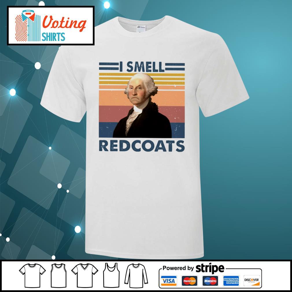 George Washington I smell redcoats vintage shirt