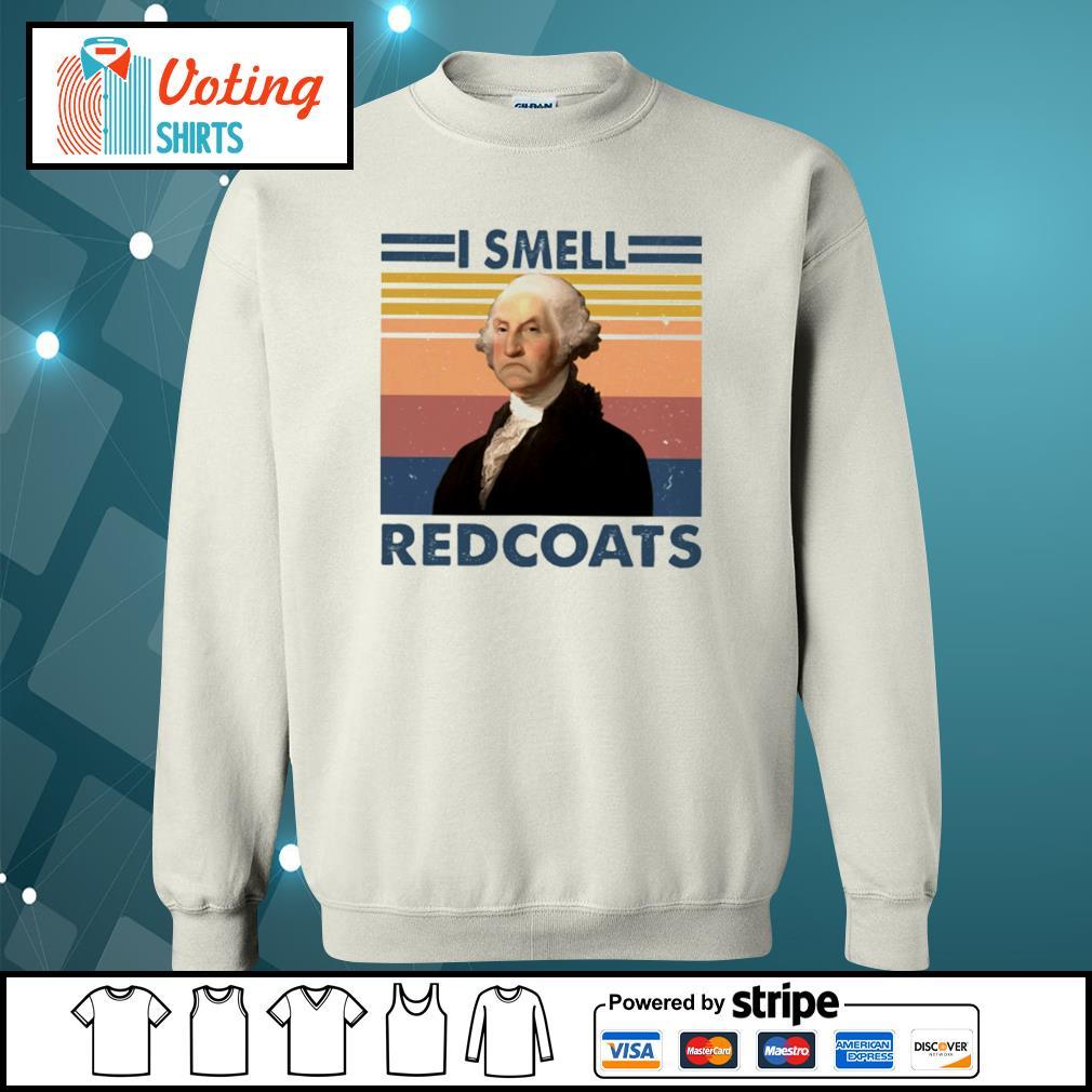 George Washington I smell redcoats vintage s sweater