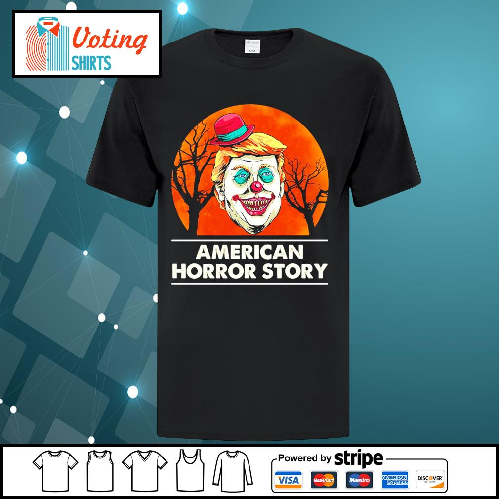 Halloween Donald Trump American horror story blood moon shirt