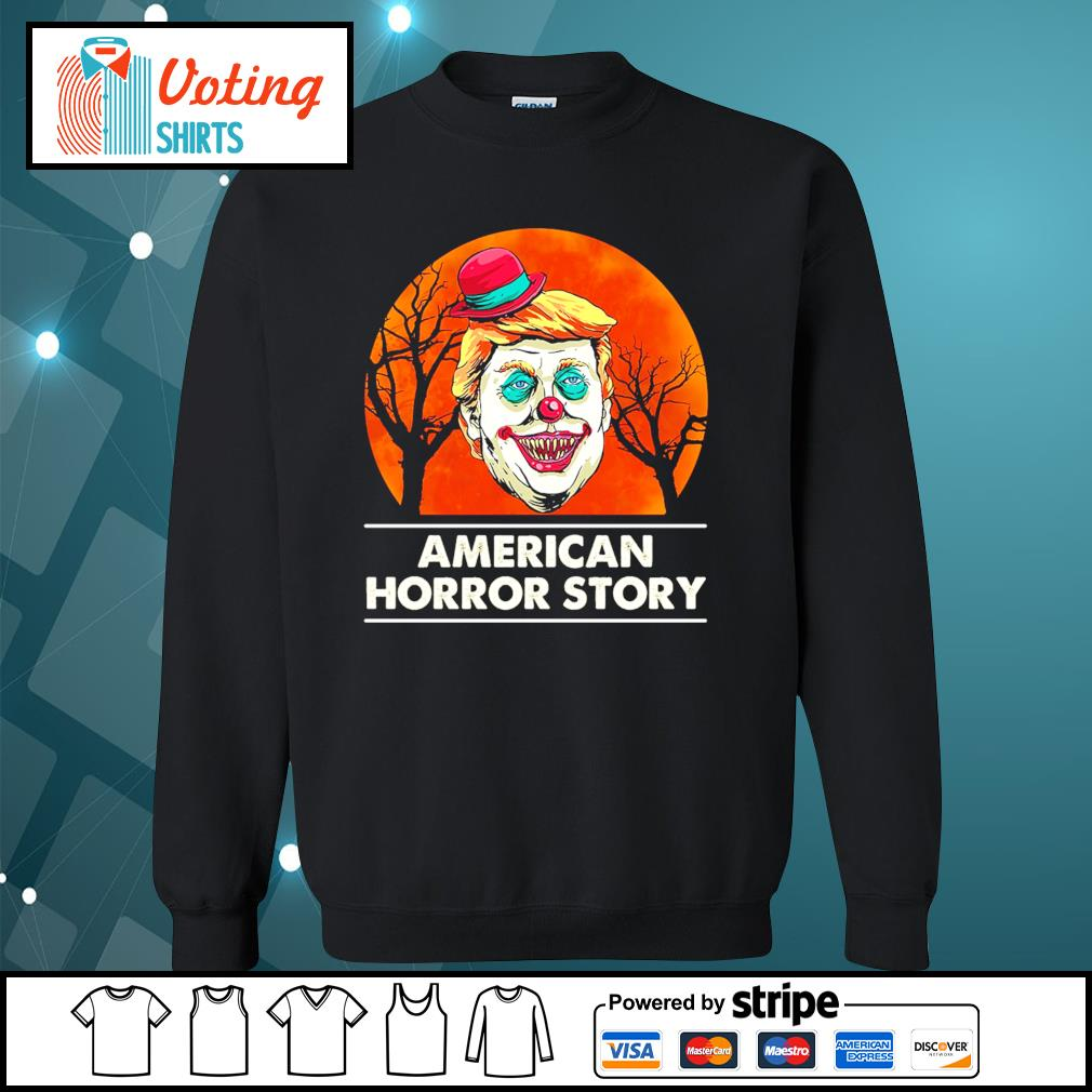 Halloween Donald Trump American horror story blood moon s sweater