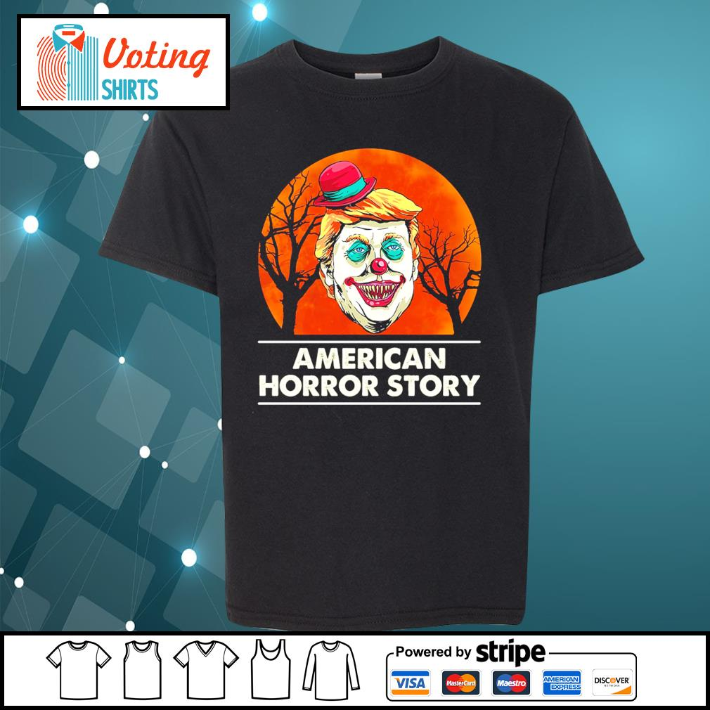 Halloween Donald Trump American horror story blood moon s youth-tee