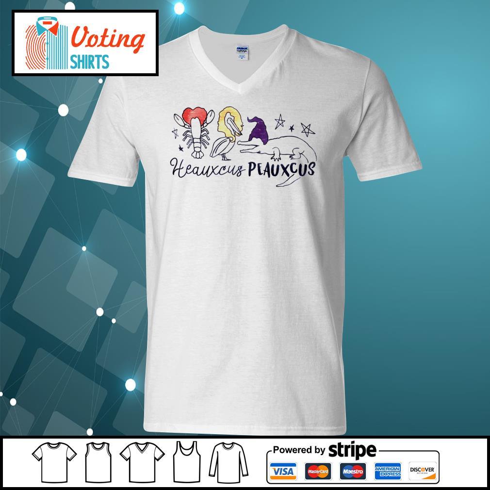 Heauxcus peauxcus s v-neck-t-shirt
