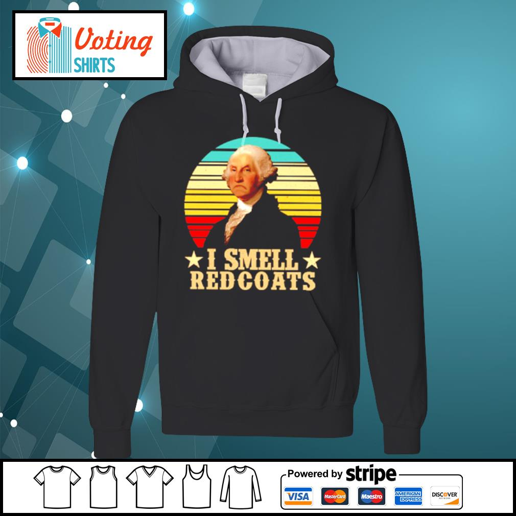 I smell redcoats vintage s hoodie
