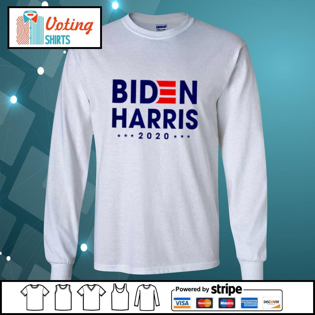 Joe Biden Kamala Harris Biden Harris 2020 s longsleeve-tee