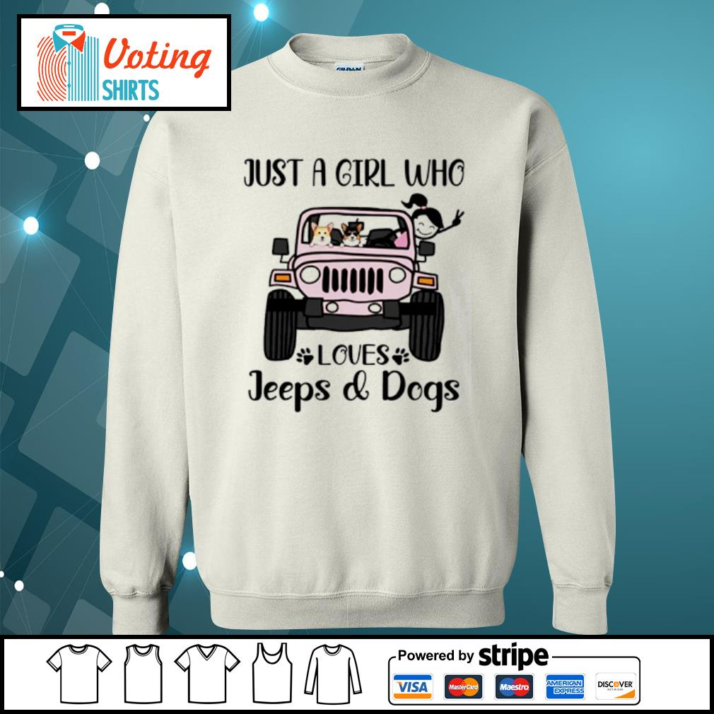 Just a girl who love with jeeps and dogs s sweater
