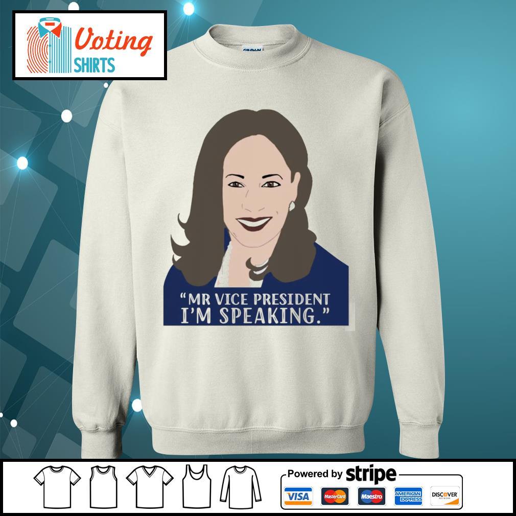 Kamala Mr vice President I'm speaking s sweater