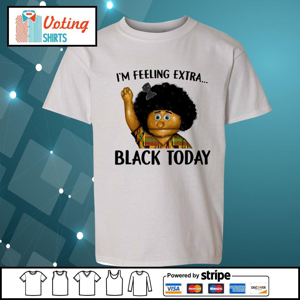 Keshia Jones I_m feeling extra black today s youth-tee
