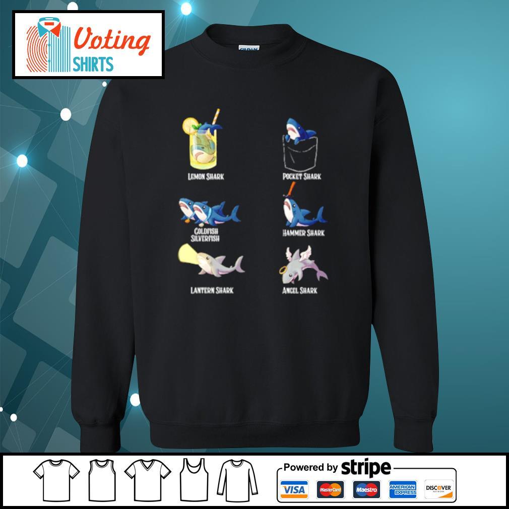 Lemon shark pocket shark cold fish silverfish s sweater