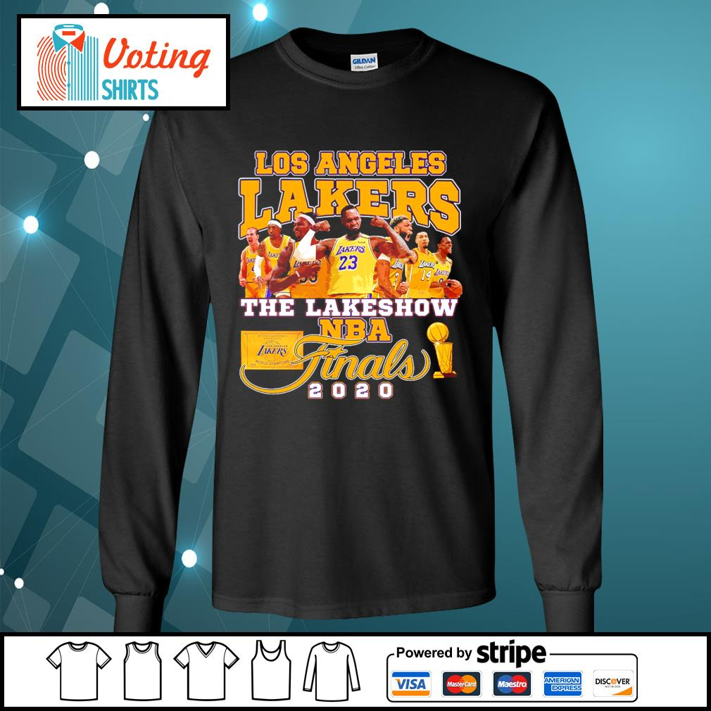 Los Angeles Lakers the lakeshow NBA finals 2020 s longsleeve-tee