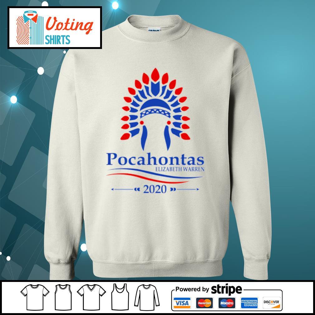 Pocahontas Elizabeth Warren 2020 s sweater