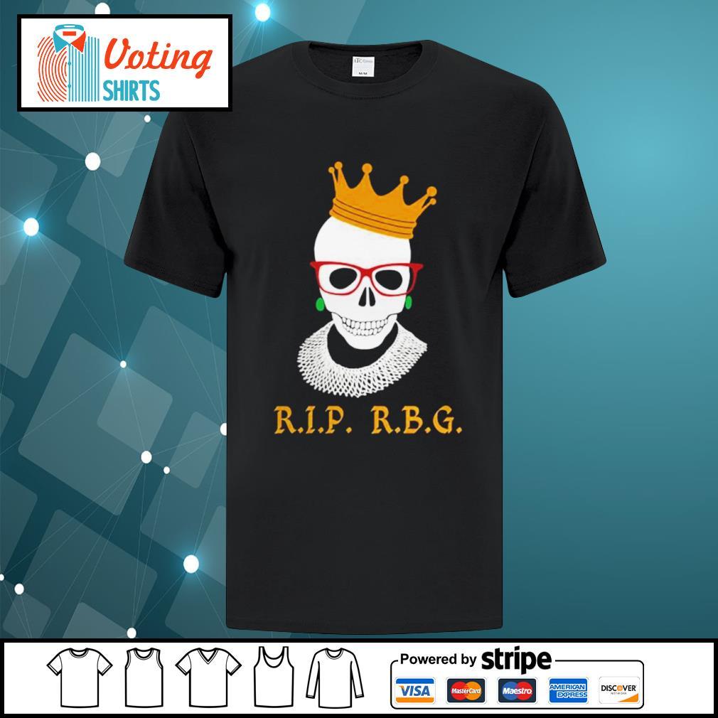 Rip RBG Ruth Bader Ginsburg shirt