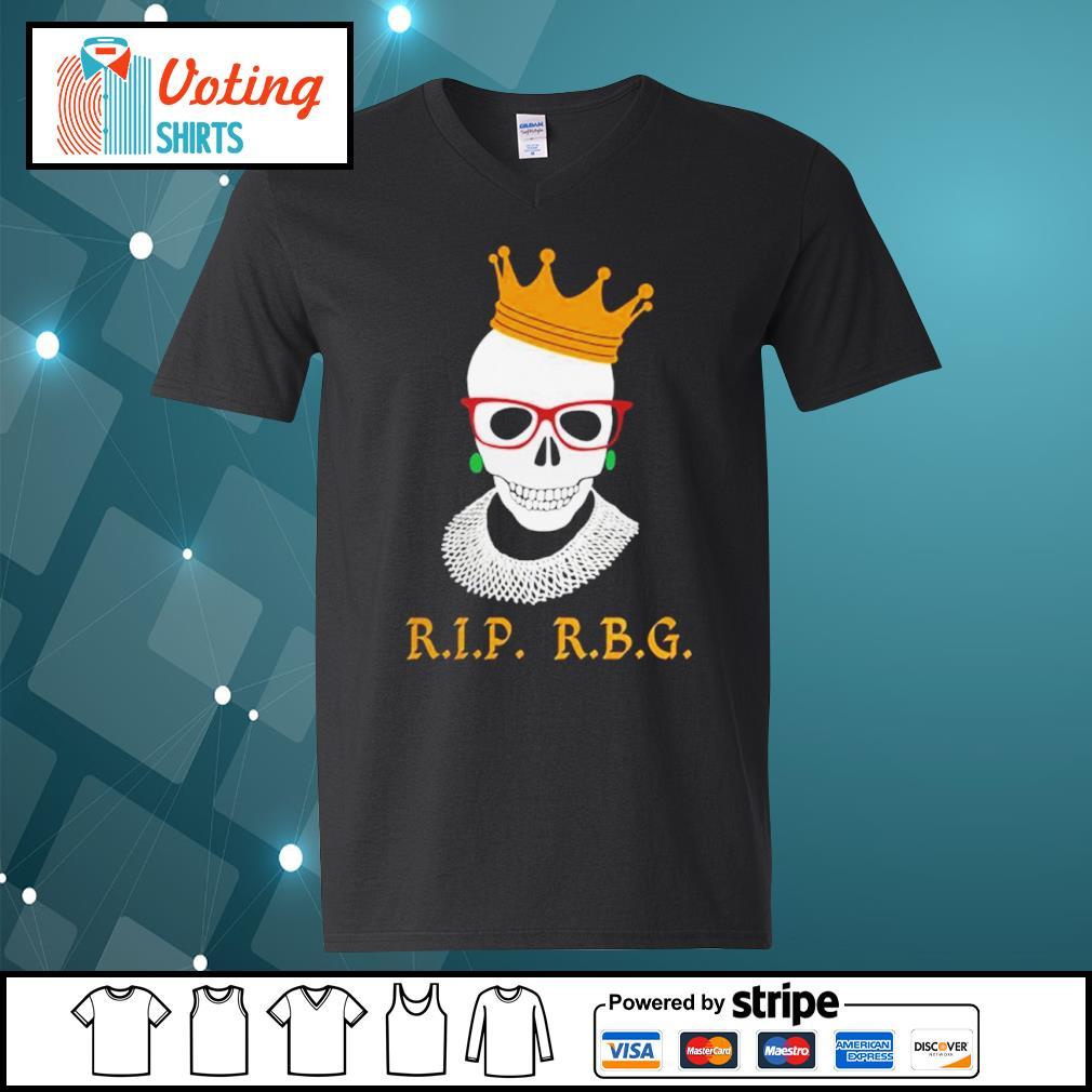 Rip RBG Ruth Bader Ginsburg s v-neck-t-shirt