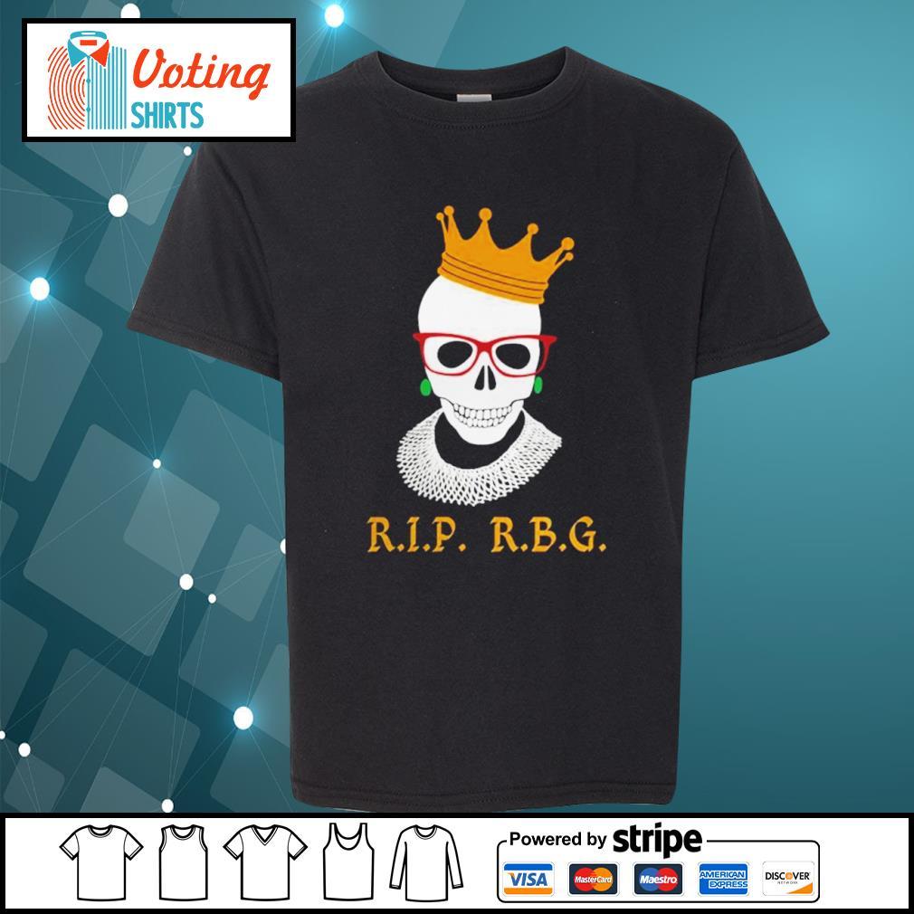 Rip RBG Ruth Bader Ginsburg s youth-tee