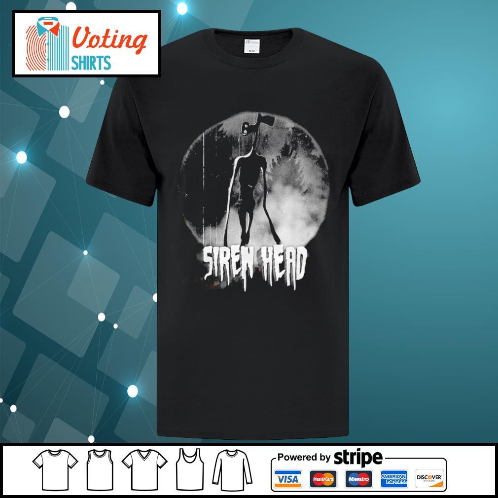 Scary Siren Head Meme character Cheeky Shirt
