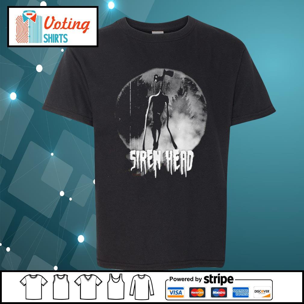 Scary Siren Head Meme character Cheeky Shirt youth-tee
