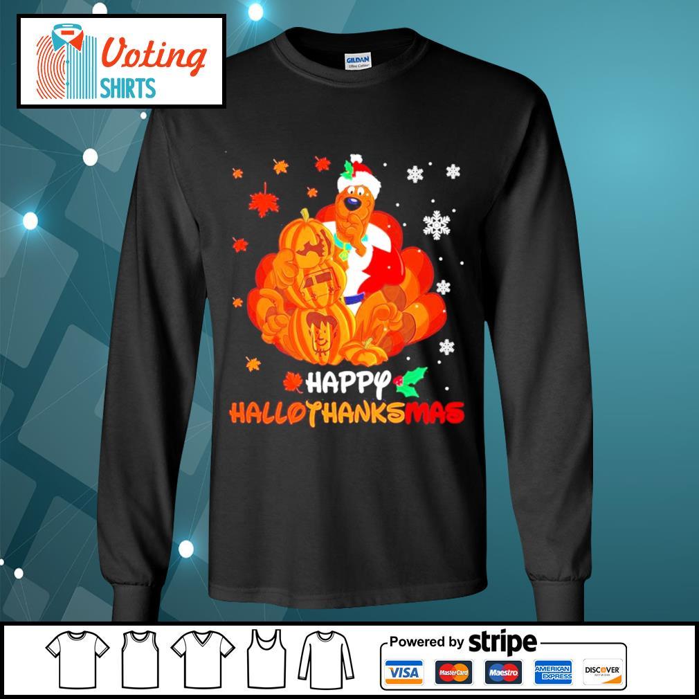 Scooby-Doo Happy Hallothanksmas s longsleeve-tee