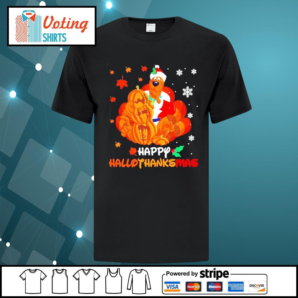Scooby-Doo Happy Hallothanksmas shirt