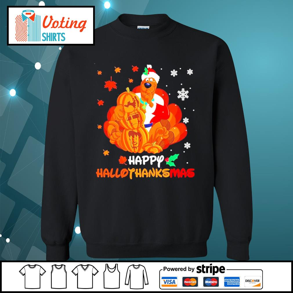 Scooby-Doo Happy Hallothanksmas s sweater