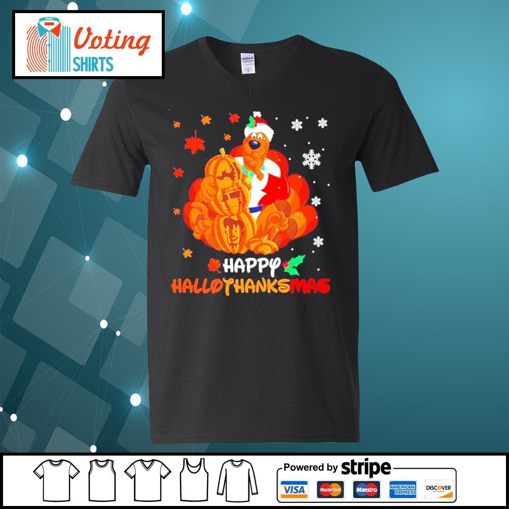 Scooby-Doo Happy Hallothanksmas s v-neck-t-shirt