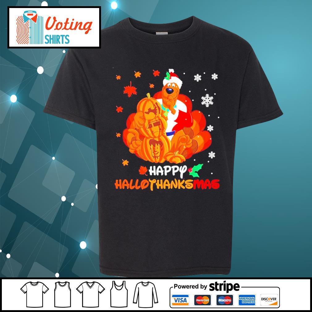 Scooby-Doo Happy Hallothanksmas s youth-tee