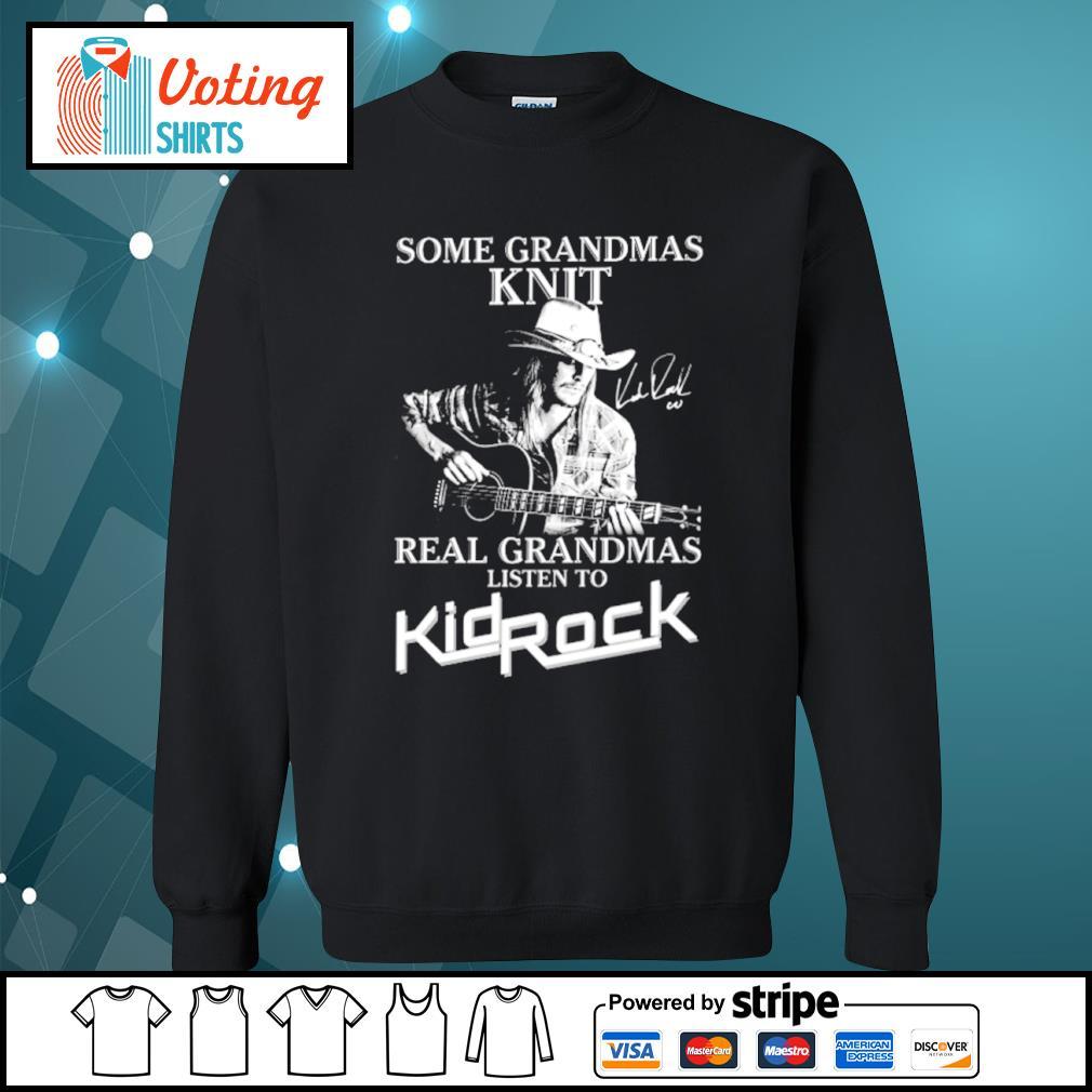 Some grandmas knit real grandmas listen to KidRock s sweater
