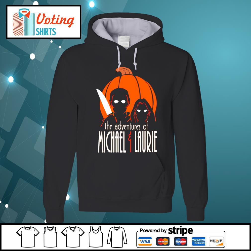 The adventures of Michael and Laurie s hoodie