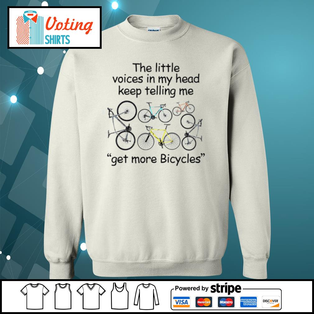 The little voices in my head keep telling me get more Bicycles s sweater