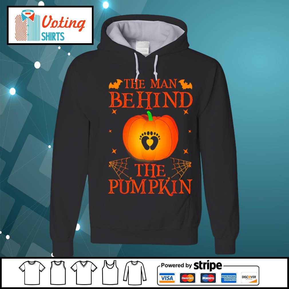 The man behind the pumpkin Halloween s hoodie