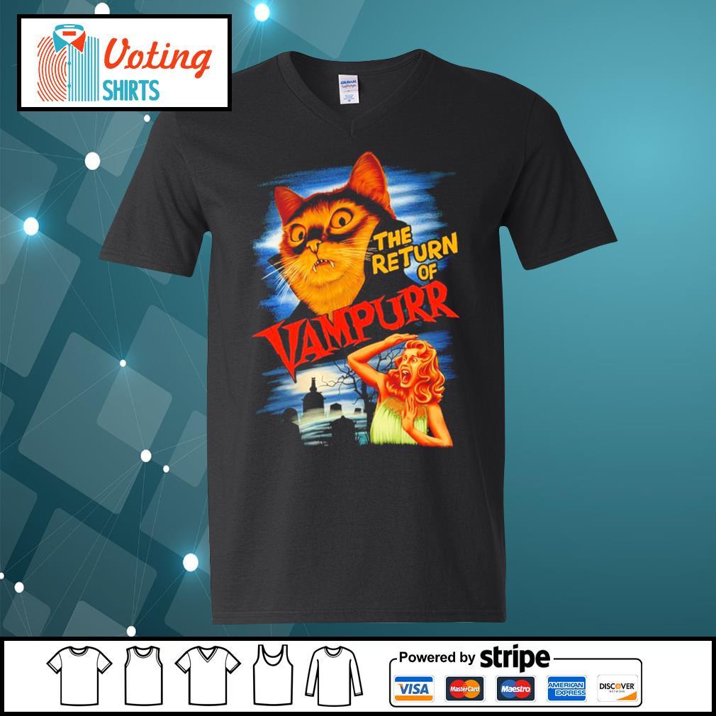 The return of Vampurr s v-neck-t-shirt
