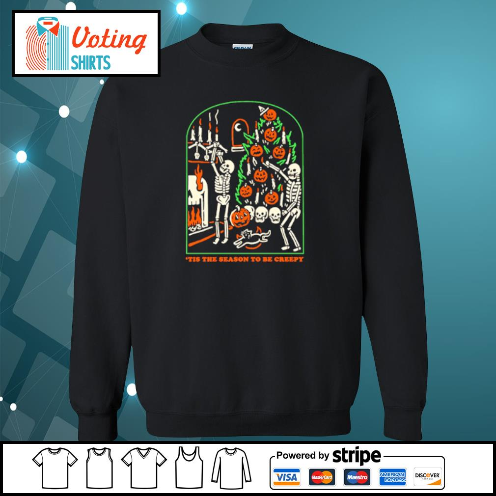 Tis the season to be creepy s sweater