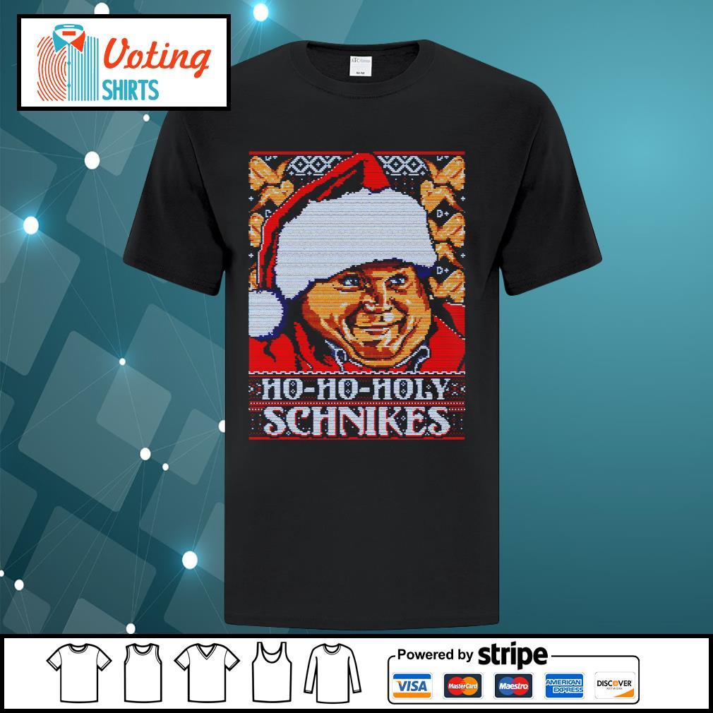 Tommy Boy Ho Ho Holy schnikes ugly Christmas shirt