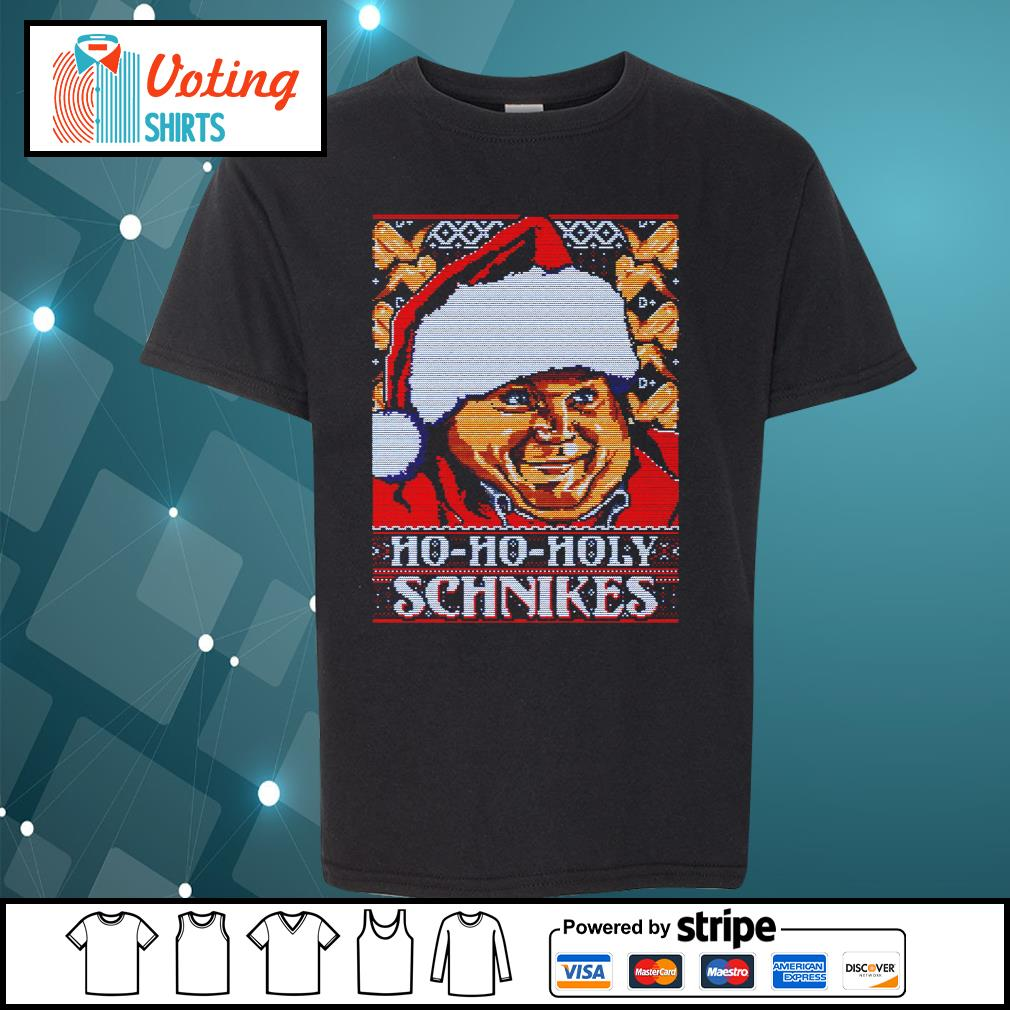 Tommy Boy Ho Ho Holy schnikes ugly Christmas s youth-tee