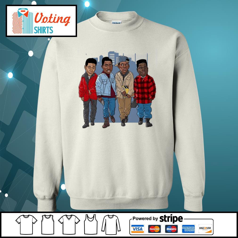 Tupac Cartoon s sweater