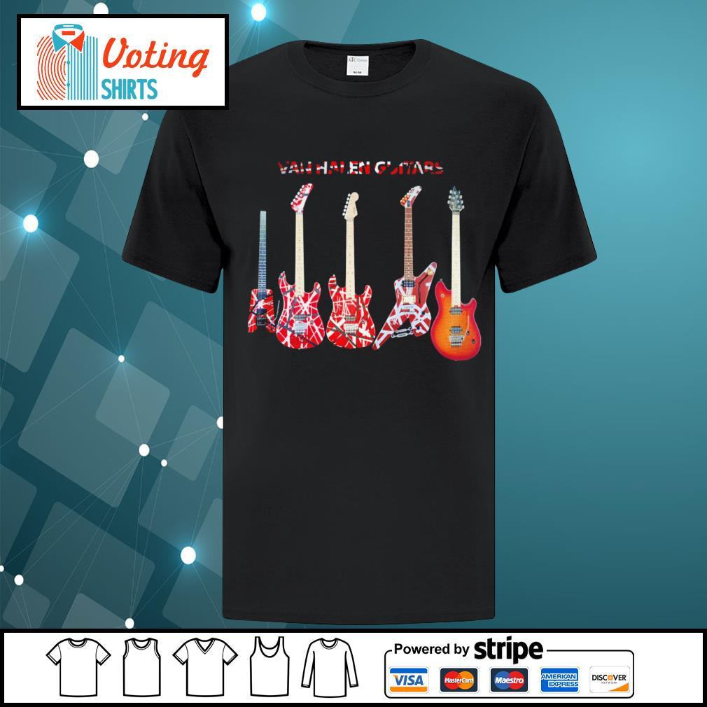 Van Halen guitars shirt