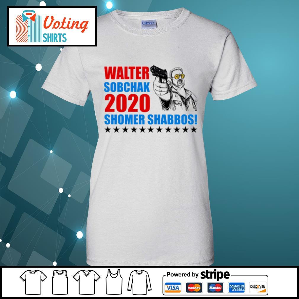 Walter Sobchak 2020 Shomer Shabbos s ladies-tee
