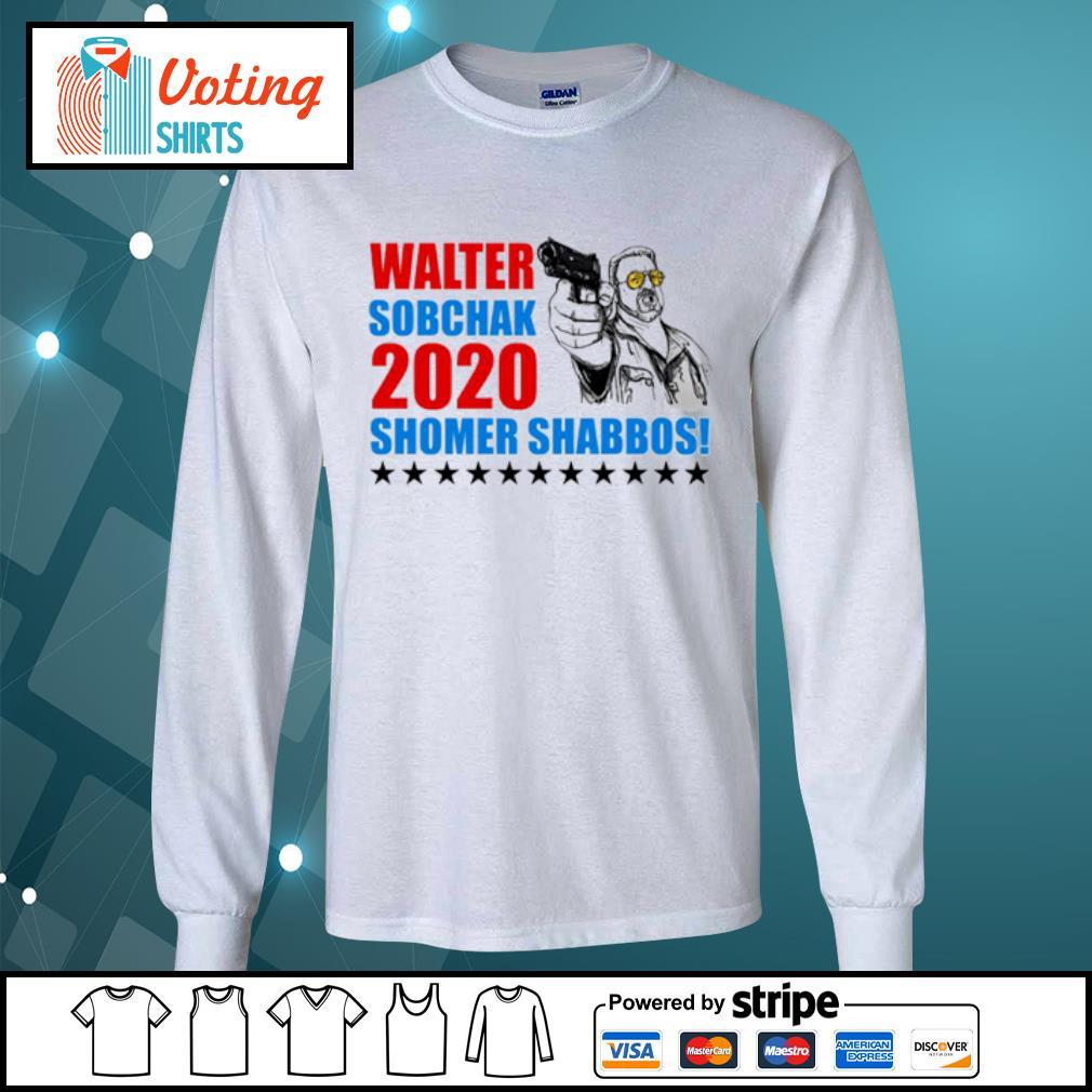 Walter Sobchak 2020 Shomer Shabbos s longsleeve-tee