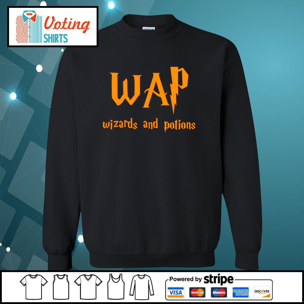 Wap wizards and potions s sweater