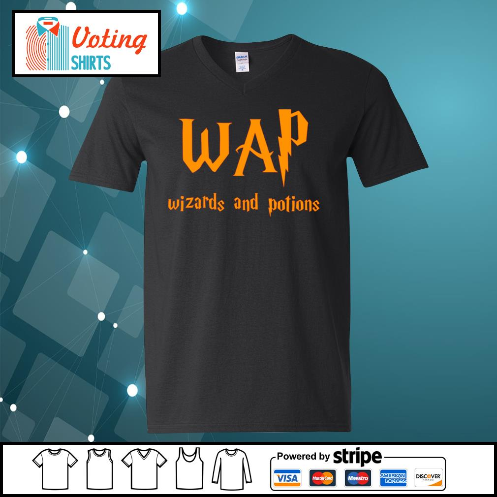 Wap wizards and potions s v-neck-t-shirt
